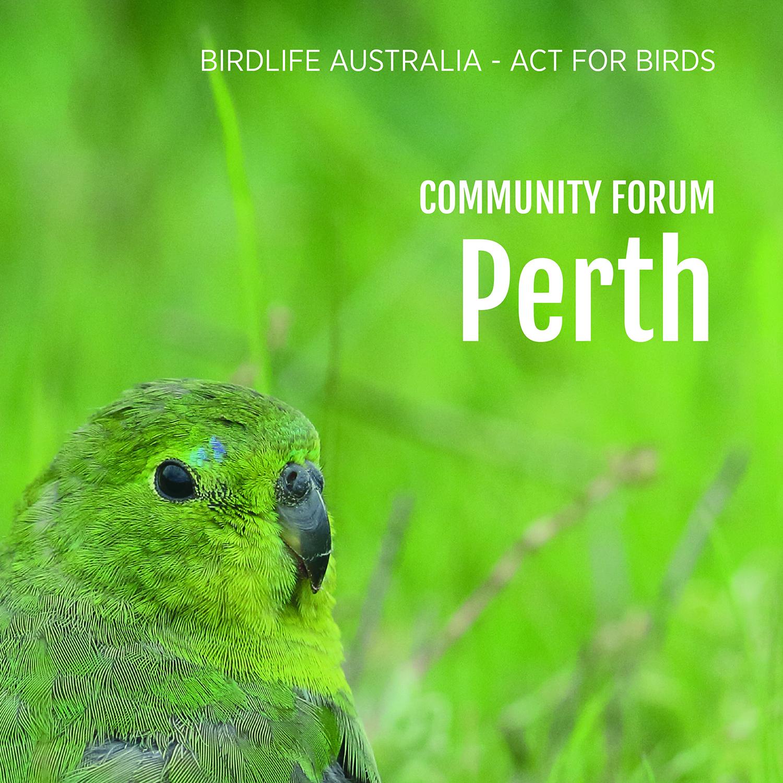 Community forum - Perth.jpg