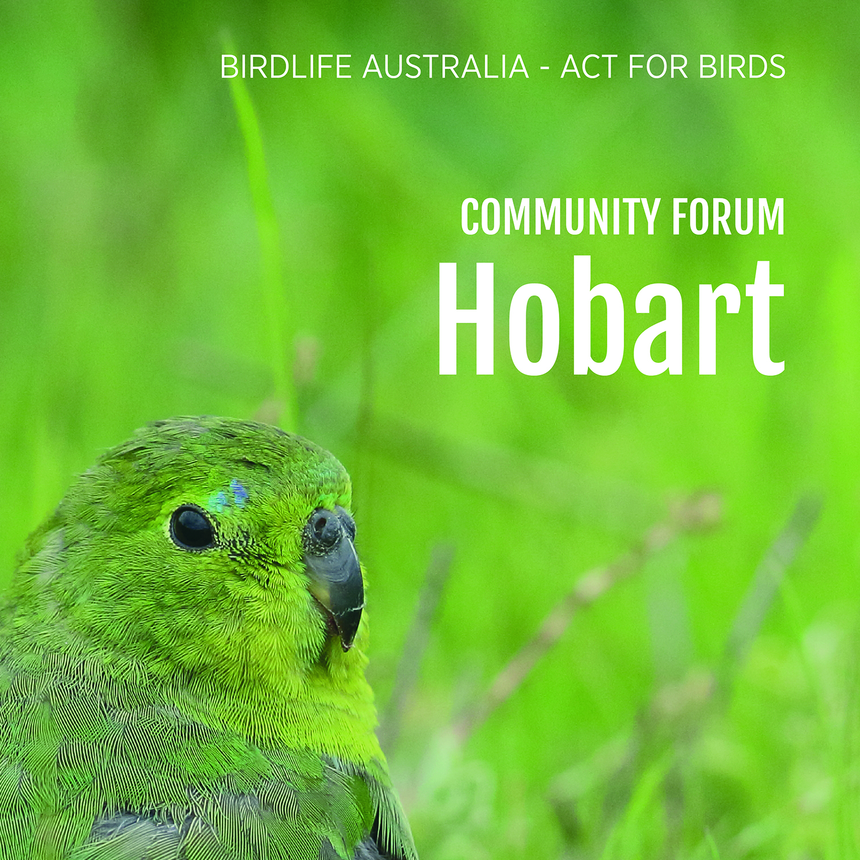 Community forum - Hobart.jpg