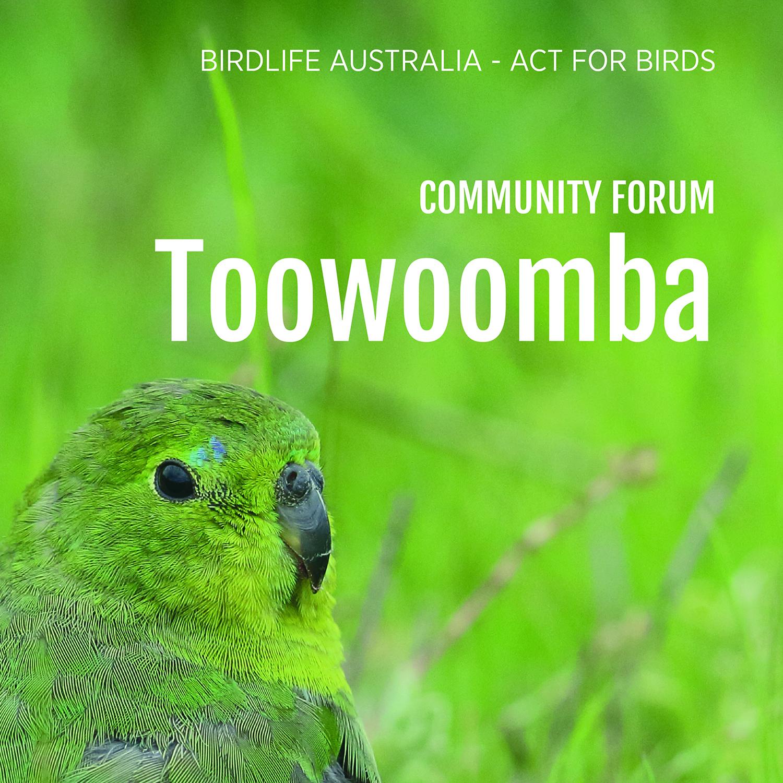 Community forum - Toowoomba.jpg