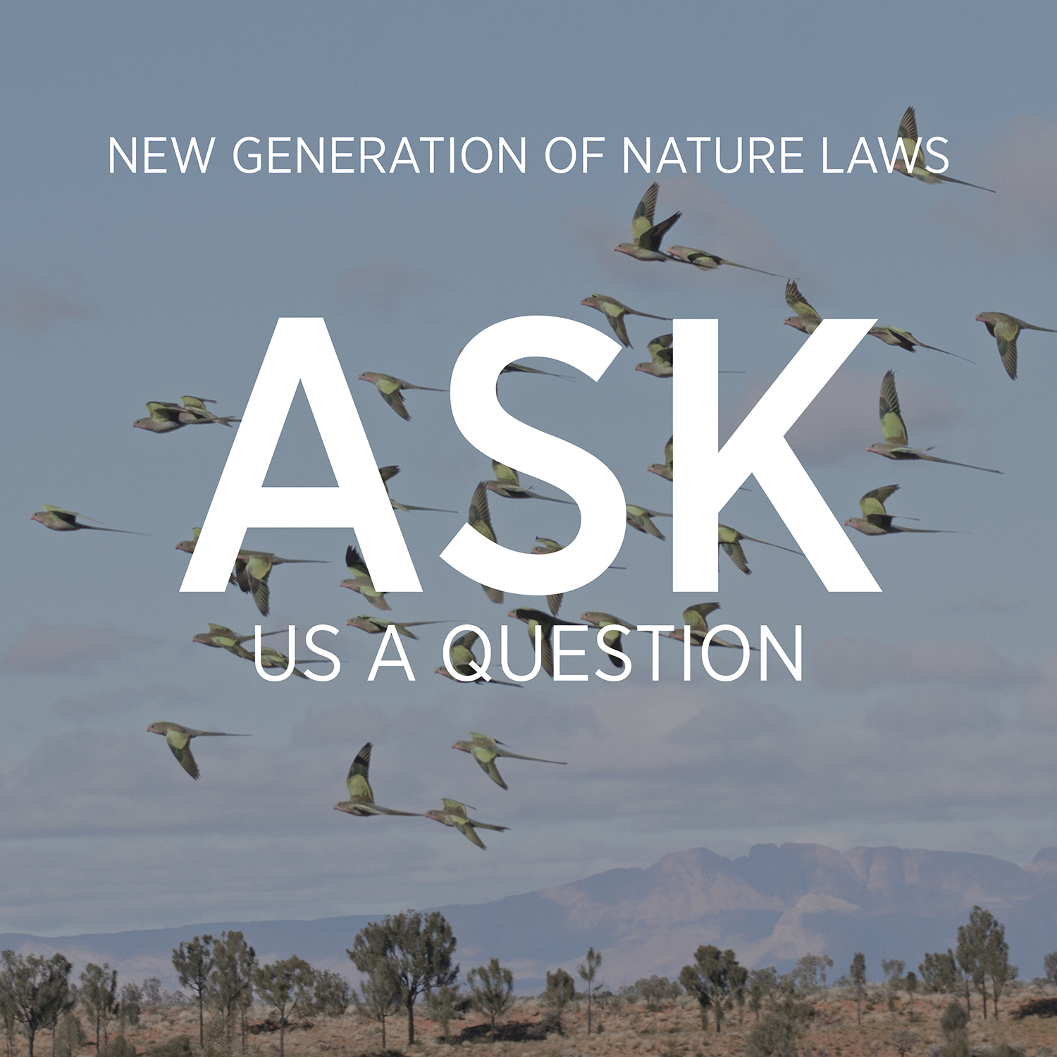 If you have a question that's not answered in the New Nature Laws FAQ, you can submit it using this form.