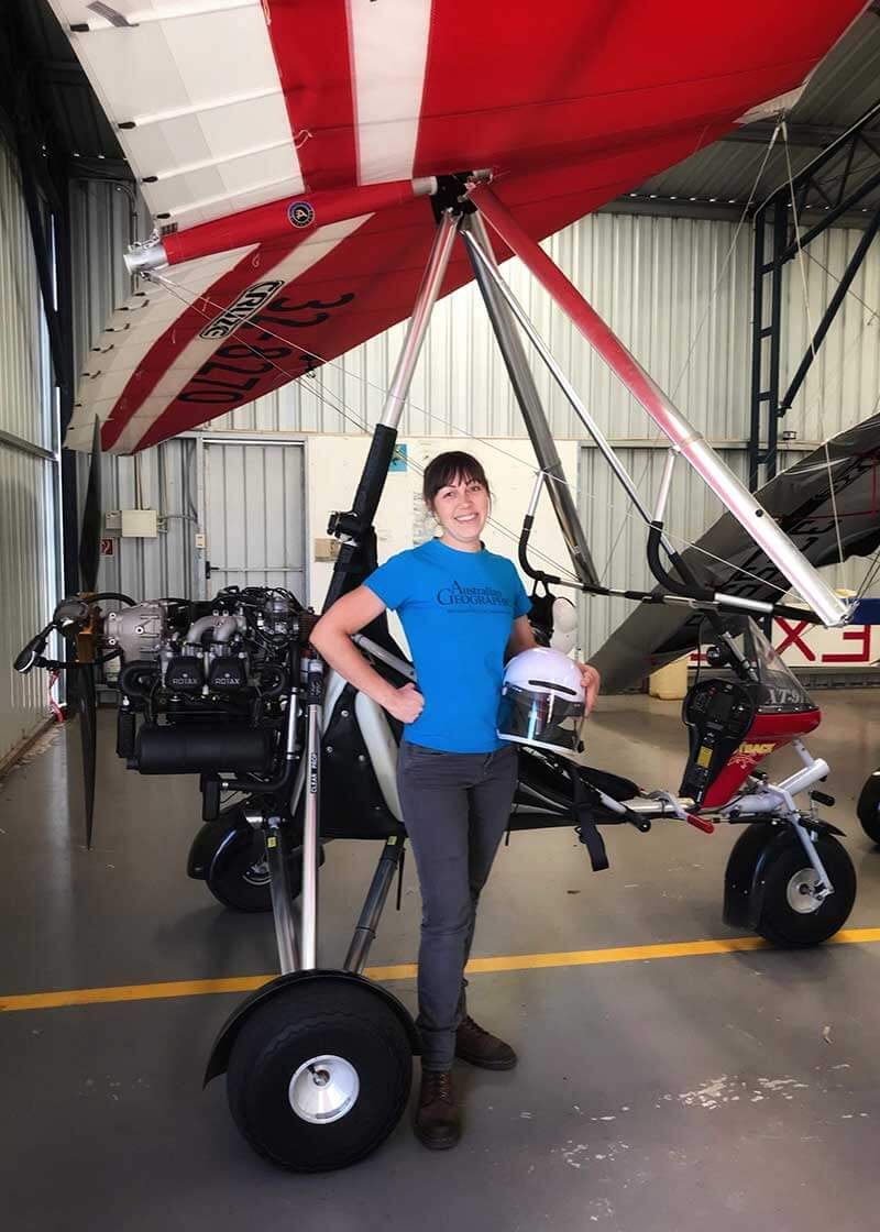 Milly Fromby is coming, she's flying this microlight to Russia along the East Asia flyway in 2021!!   See here website for more detail.