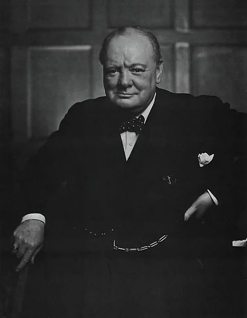 """ I want no criticism of America at my table. The Americans criticize themselves more than enough.""  -Sir Winston Churchill"