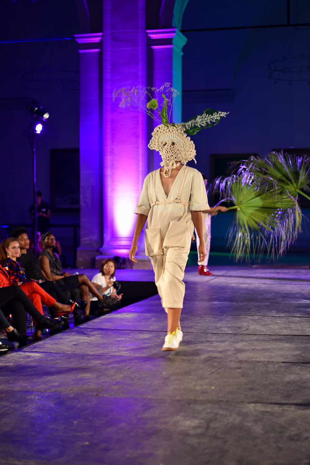Salt NYFW Fall 2018 Runway Show September 6, 2018  Brooklyn Museum  Produced by Dapper Q  Photographer: Emily Chan