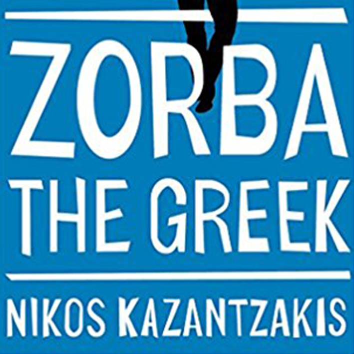 """Zorba the greek   I was told to read  Zorba the Greek by Nikos Kazantzakis  by a real life """"zorba."""" The PHILOSOPHIES, the """"life more full,"""" The music and the suffering - this is a true wisper to your soul for all the things you search for. I listened to the audio book and it was great, y'all!"""