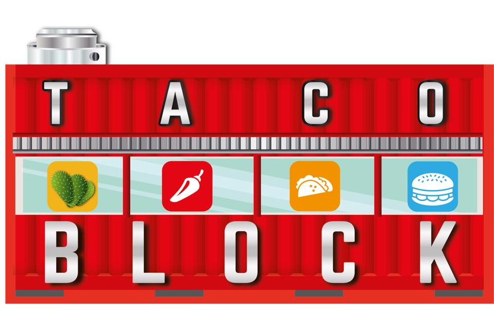 Taco Block - GM of Taco Block, Adrian Bonilla's catering service is an extension to his unique retractable