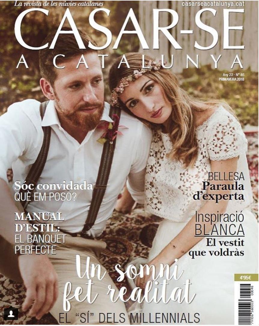Casarse a Catalunya - Shooting de portada