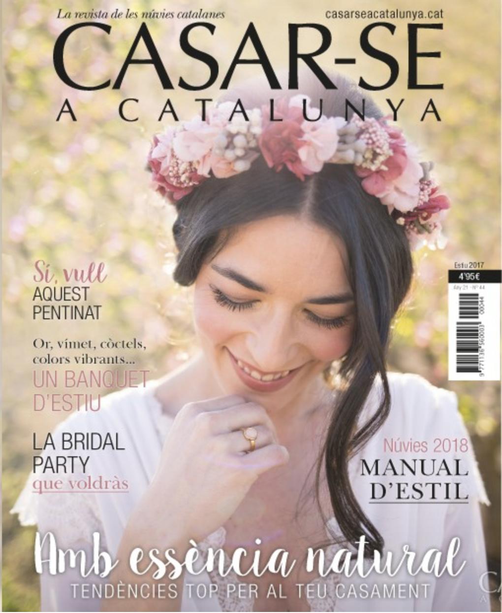 Casarse a Cataluna - Shooting de portada