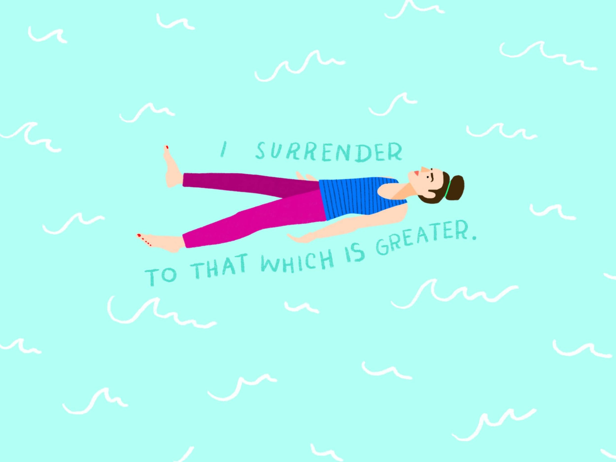 I Surrender to That Which is Greater - Desktop Wallpaper