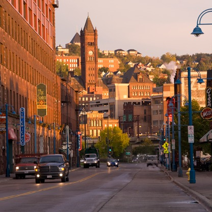Duluth, the gateway to Minnesota's North Shore.