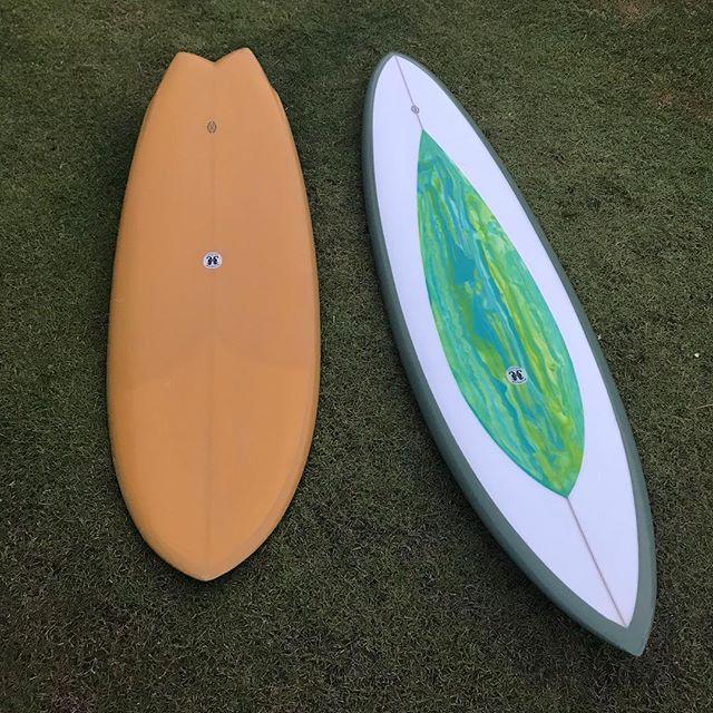Happy fridays.... #handshape #surfboards #allyouneed #twin #singlefin @dessa_store #makaha #sandiego #sunshinecoast #noosa