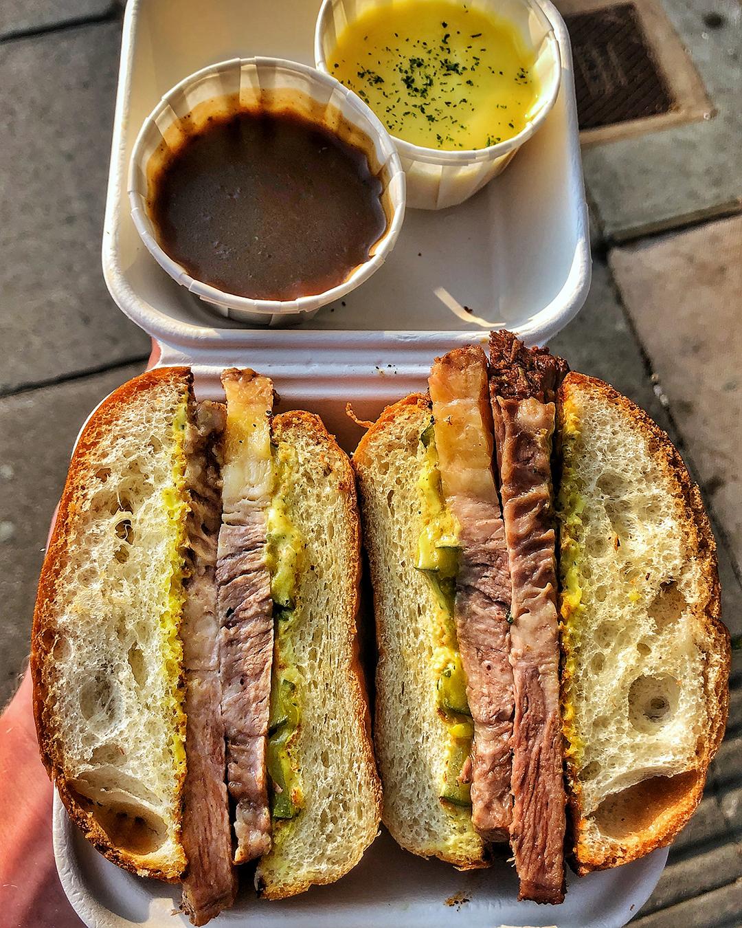 Need Street Food KERB InKERBator Weekender Southbank Centre French Dip Roll (1).jpg