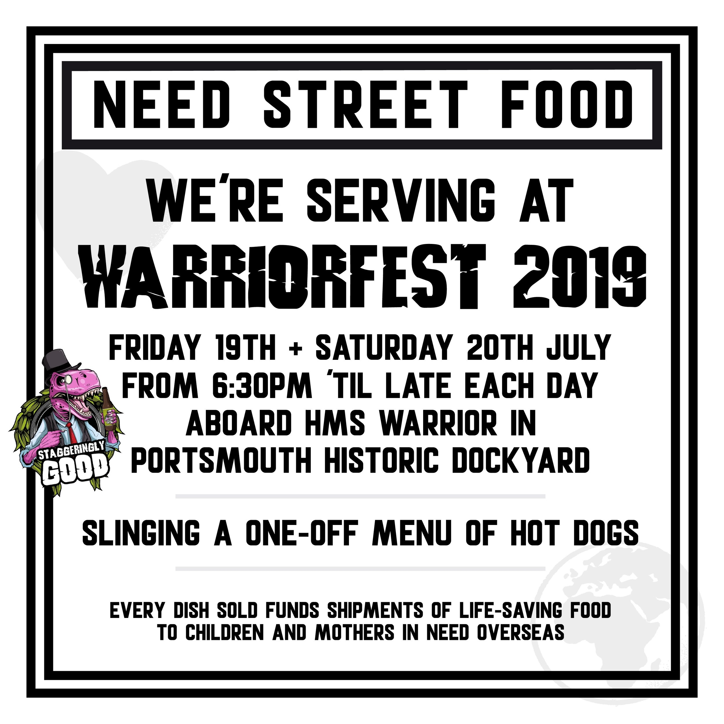 WARRIOR FEST 2019 NEED STREET FOOD STAGGERINGLY GOOD PORTSMOUTH..jpg