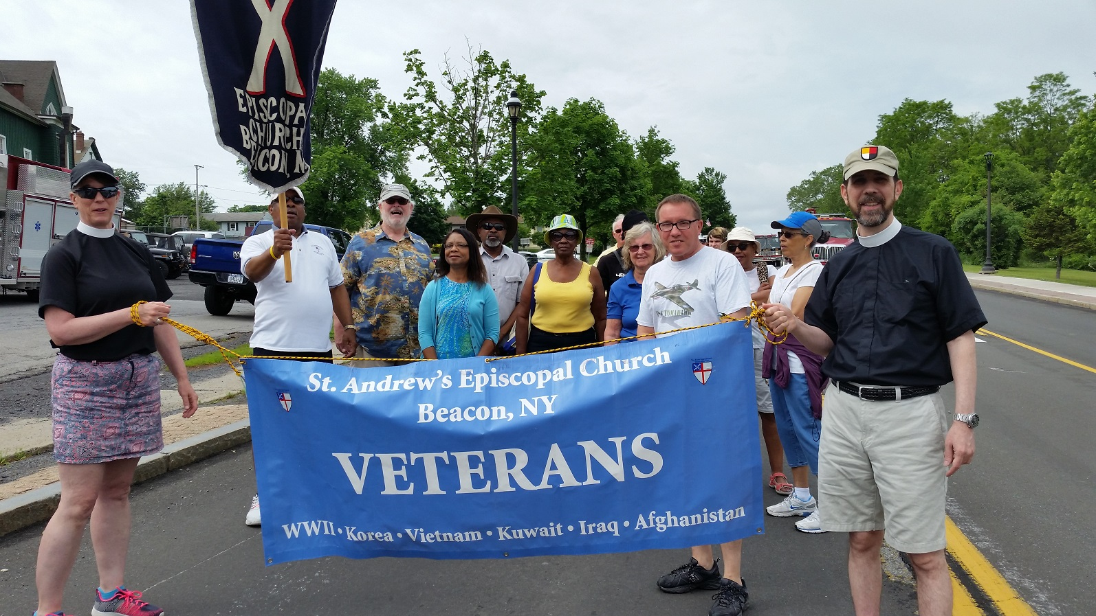 Marching in the Vet Day Beacon parade.jpg