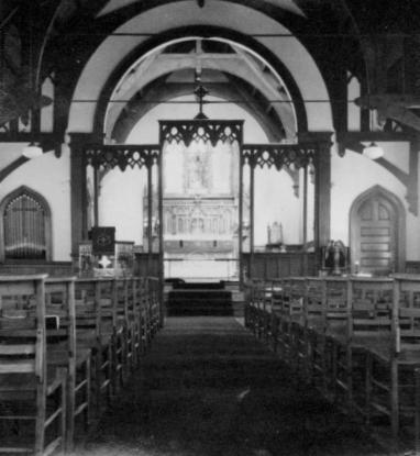 St. Andrew's Church Interior with Rood Screen