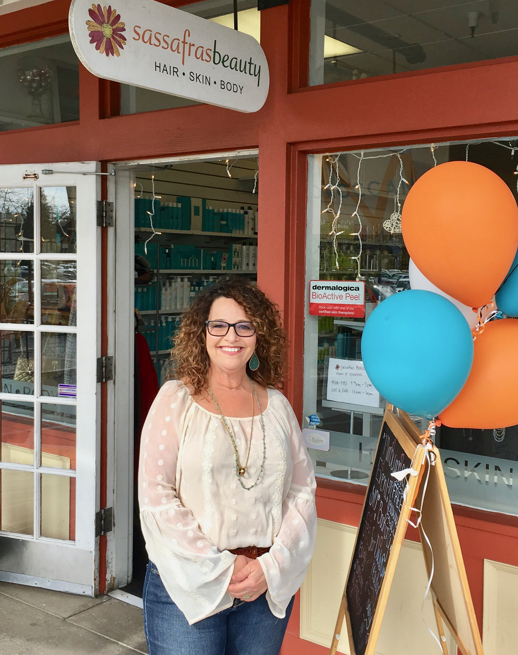 Danielle Crane, owner of Sassafras salon in Davis, California