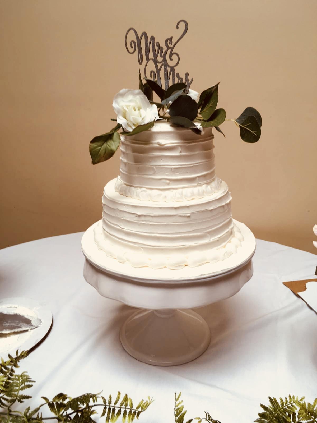 2Tier Wedding Cake