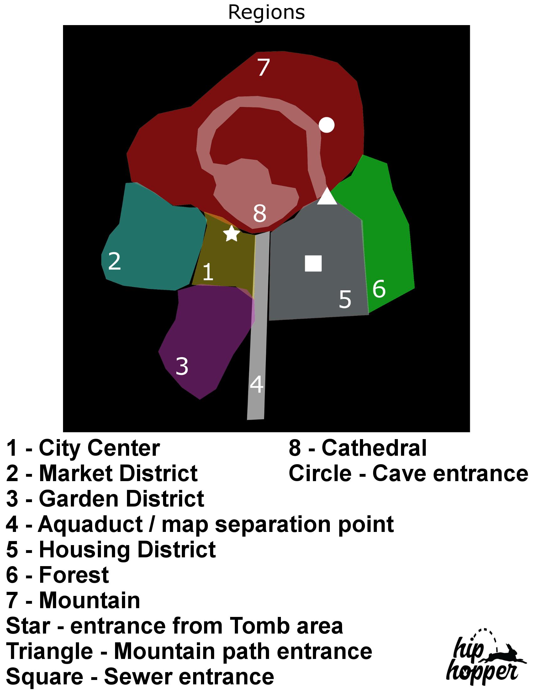 Map Redesign - Regions