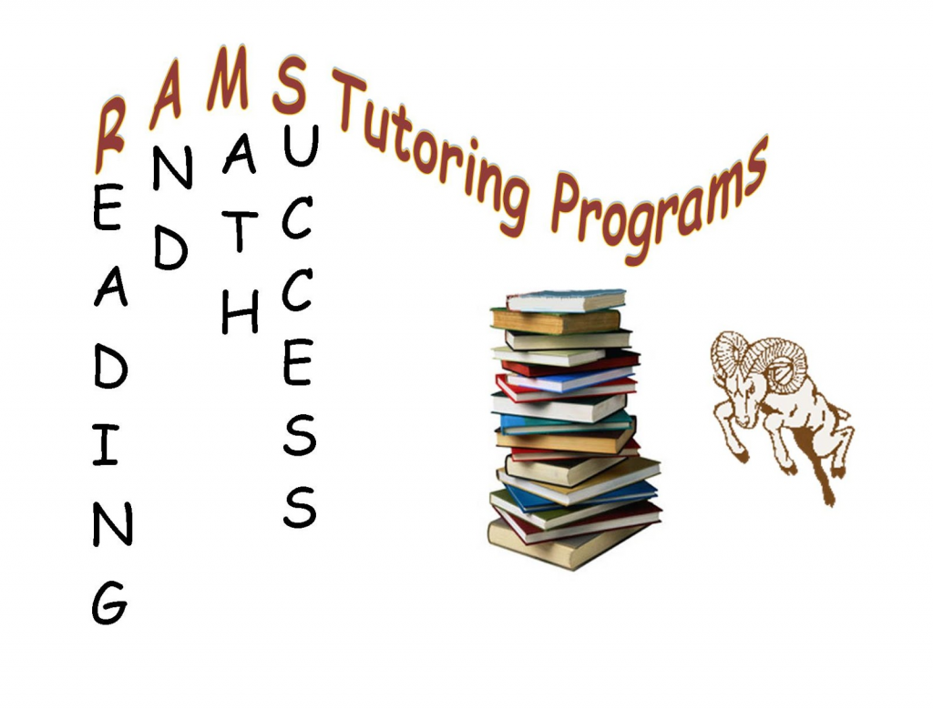 RAMS TUTORING - A tutoring program for Holt elementary students. Please click the link below to learn more, volunteer, bring snacks, or donate supplies.