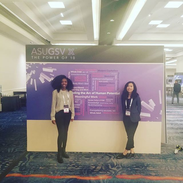 We were at ASU GSV Summit in San Diego this week to exchange ideas about the future of higher education & career pathways...and experience some great weather! #asugsvsummit #edtech #sandiego