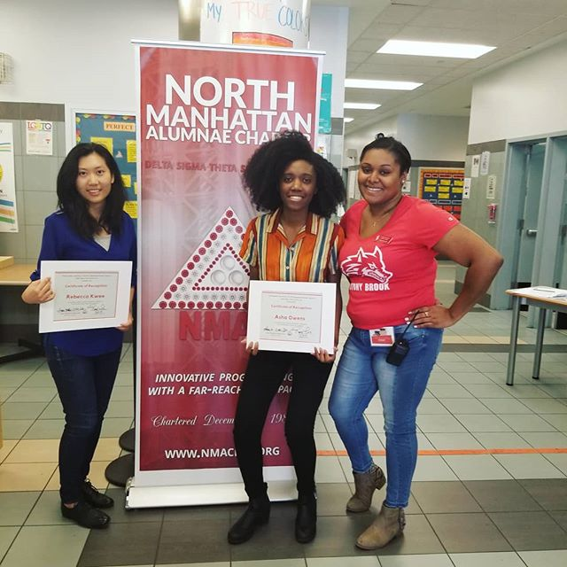 One of our highlights this month: holding college choice & financial aid workshops at @nmacdst 's May Week 2019! Thanks for the invite & look out for more NYC workshops this year! . . . . . #mayweek #dst #collegeaccess #college #highschoolsenior #highschooljunior #classof2019 #spring #nyc #teach
