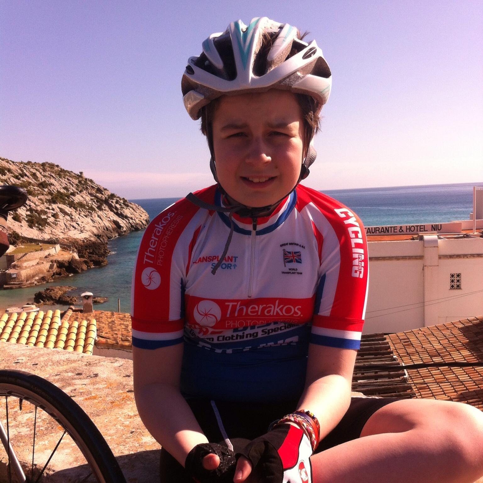 alice enjoying her trip to Mallorca -