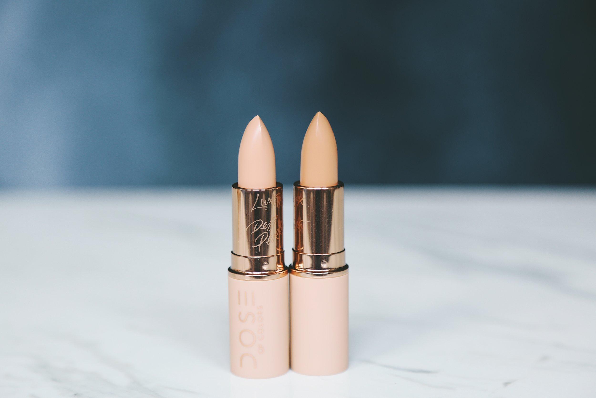 Dose of Colors Desi x Katy collaboration lipstick