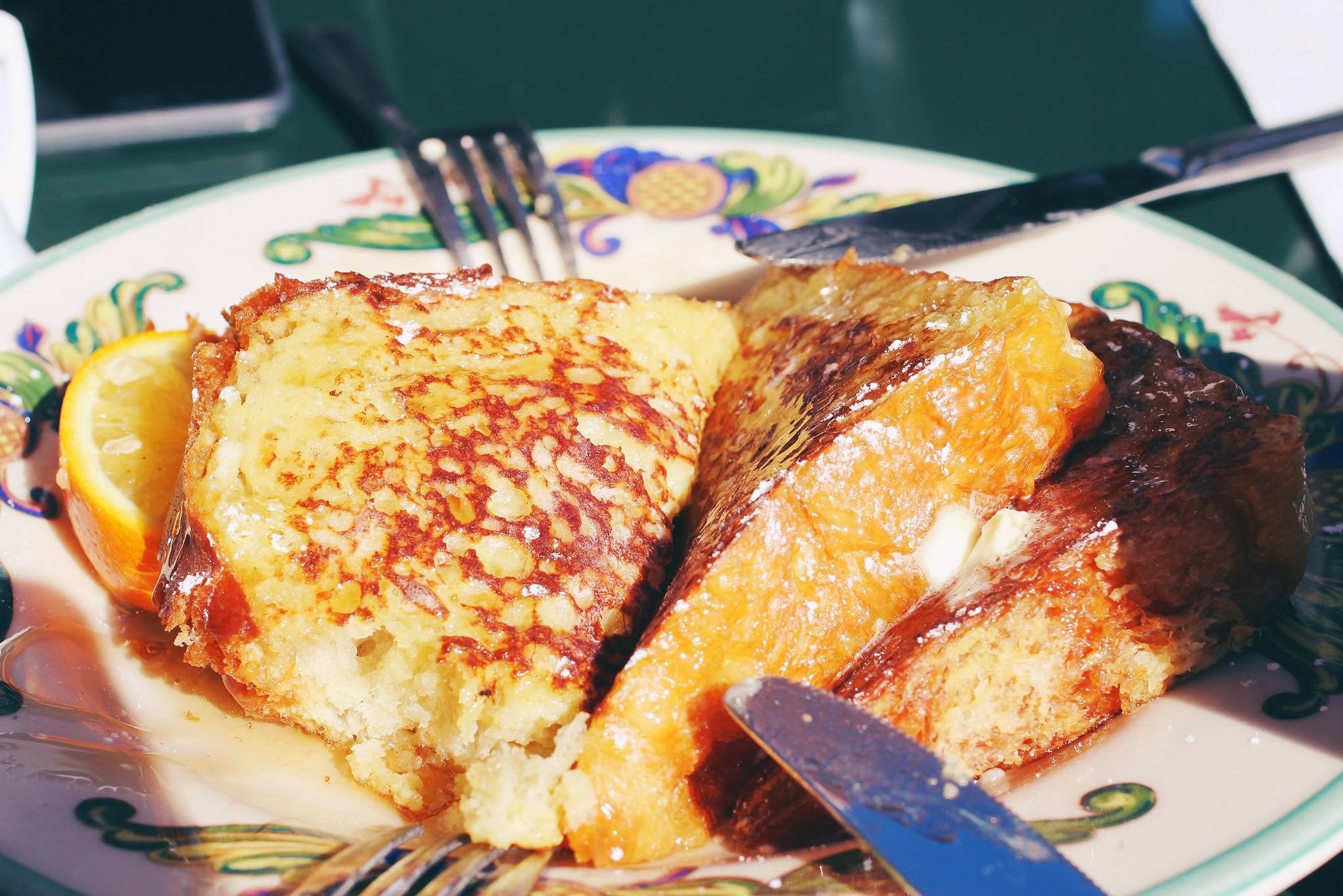 san francisco diary french toast