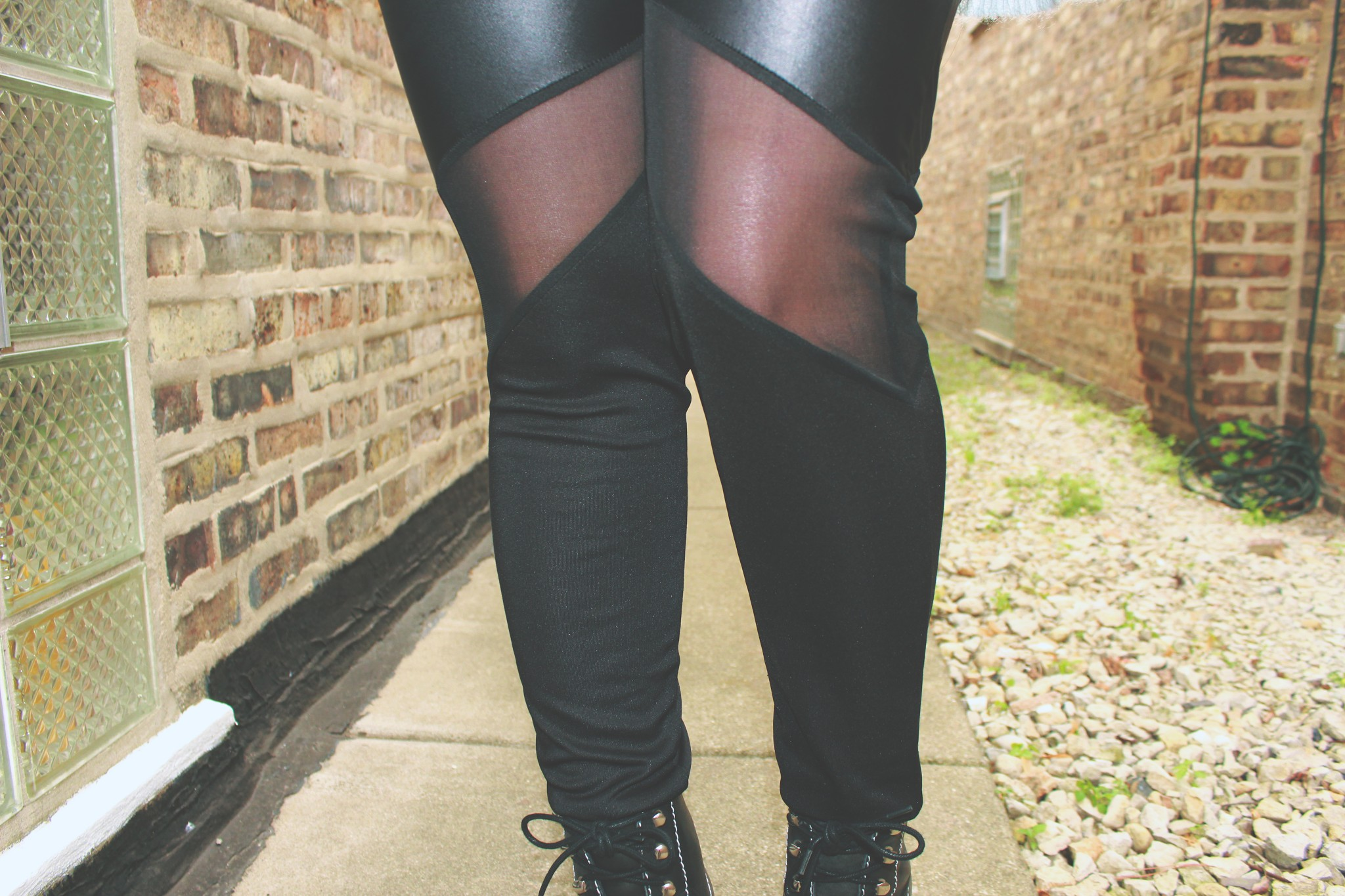 cut out leggings