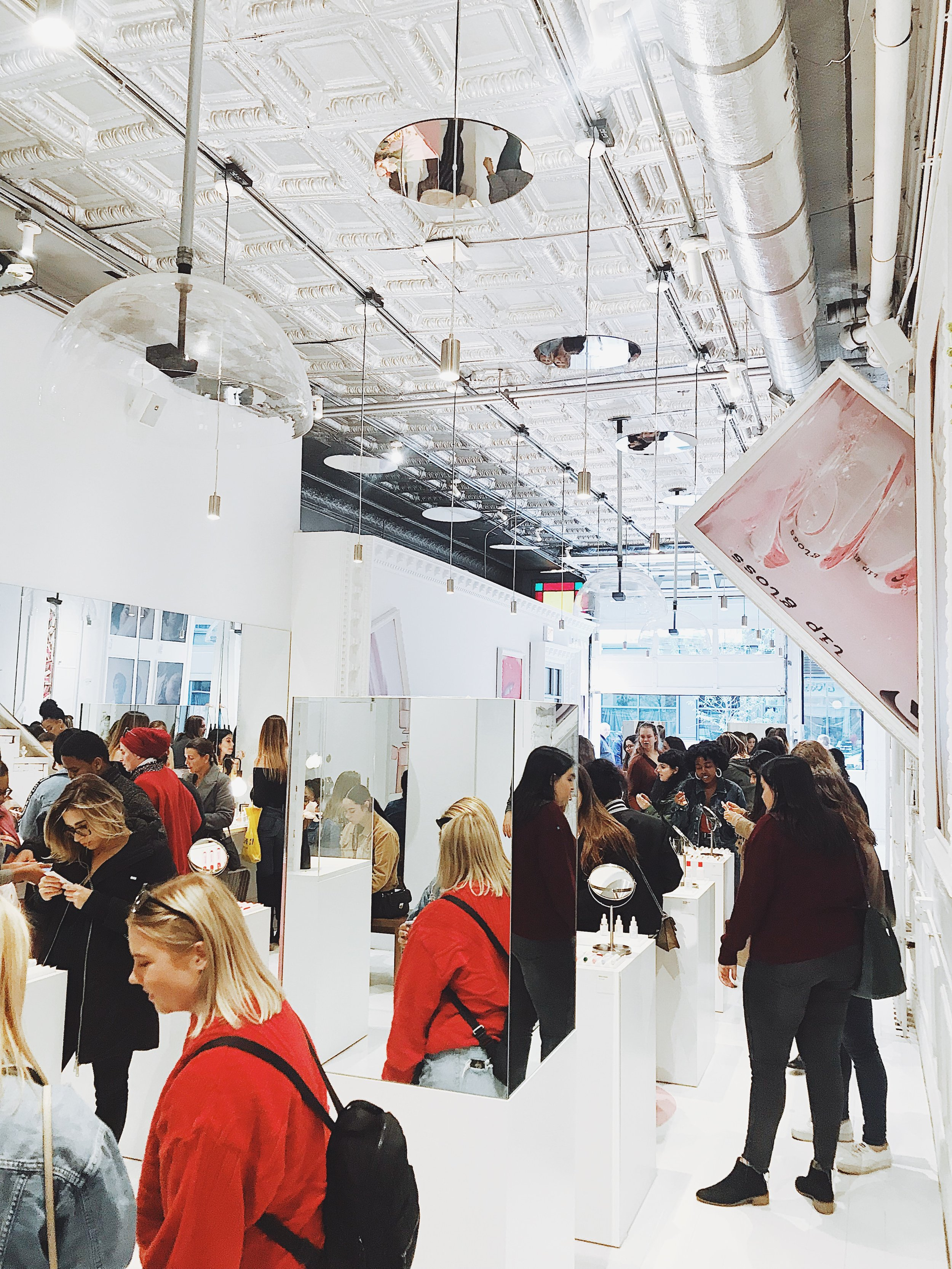 chicago glossier pop up
