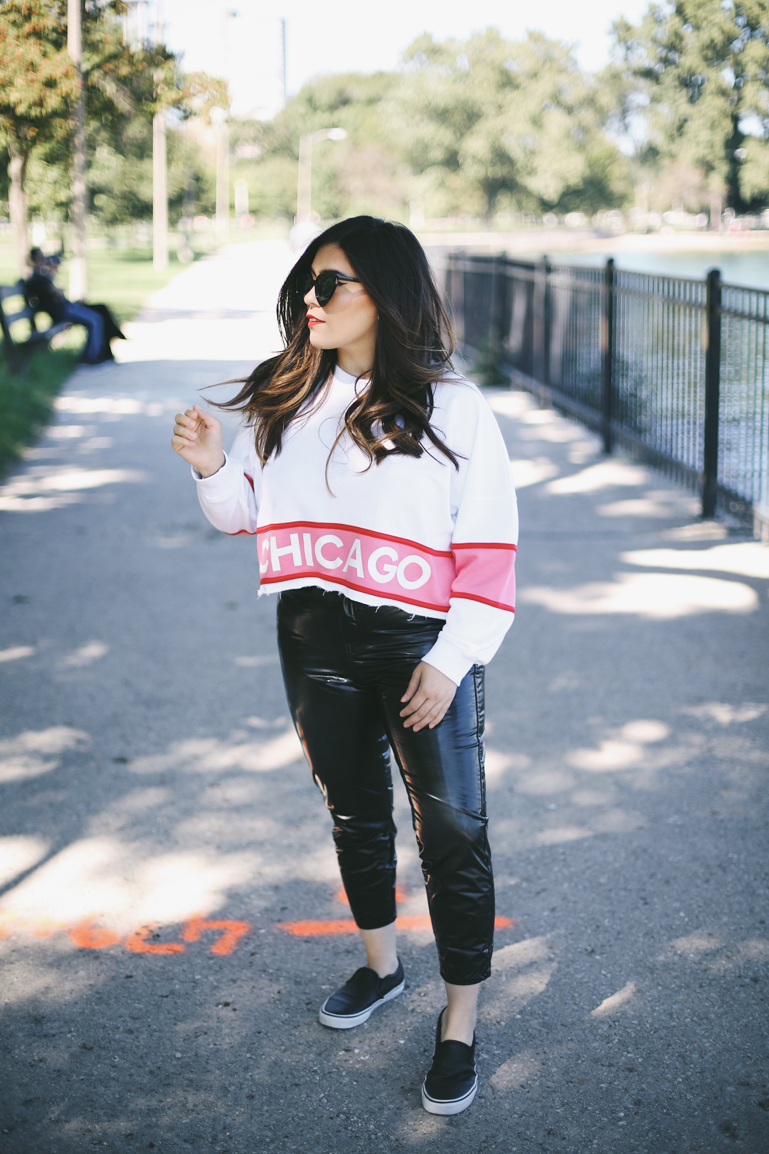 missguided chicago sweater