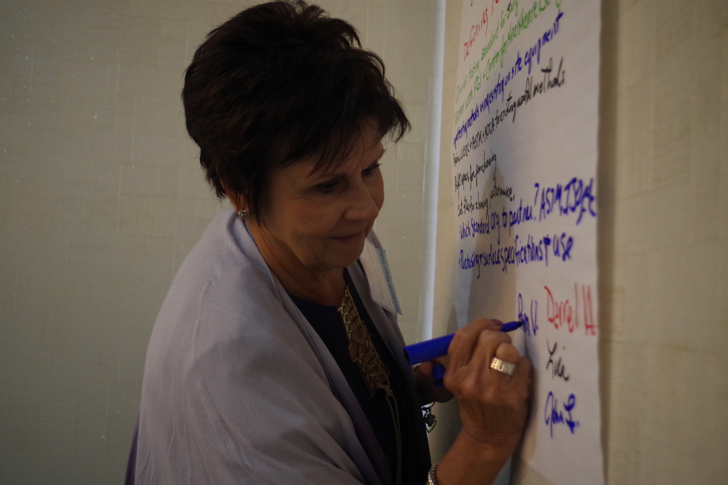 Pam Vaccaro signs up for initiative Group