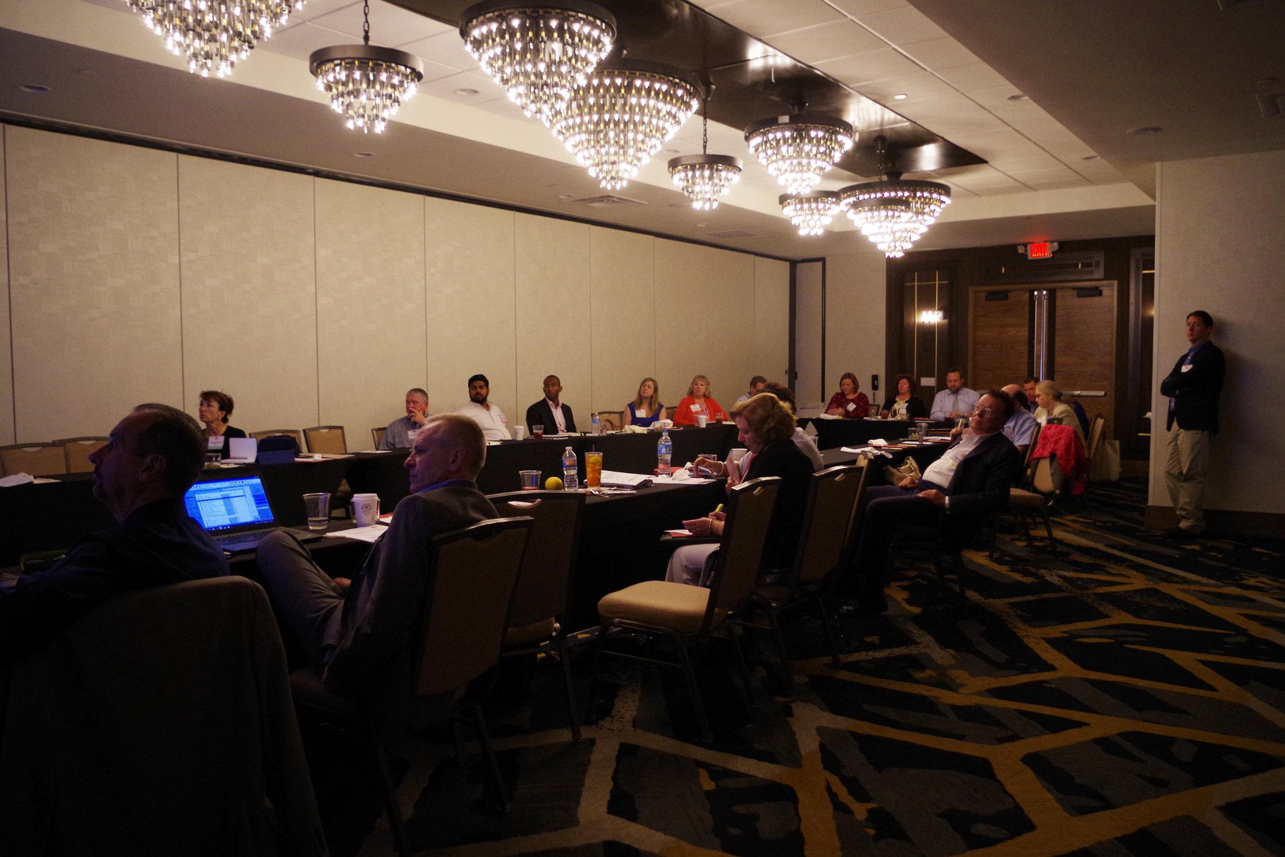 Lightening talk presentations.JPG