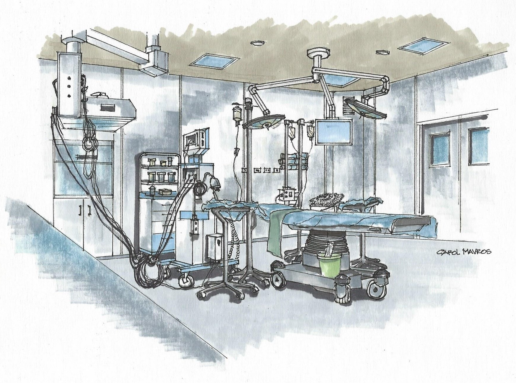 Incubator: Operating Room Rendering