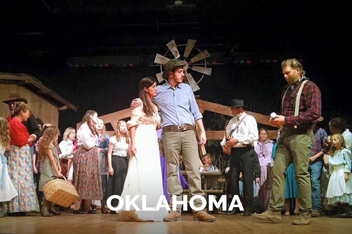 Oklahoma presented by the Spanish Trail Playhouse