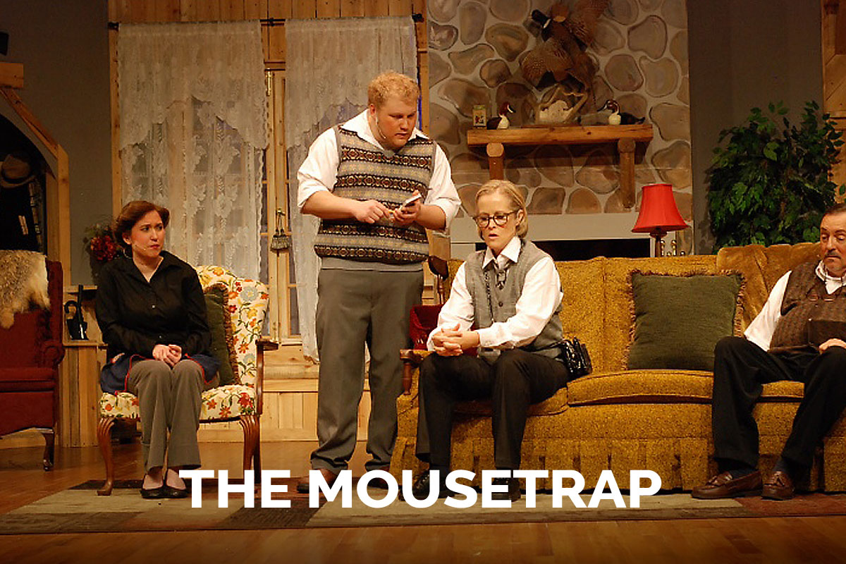 The Mosuetrap presented by the Spanish Trail Playhouse