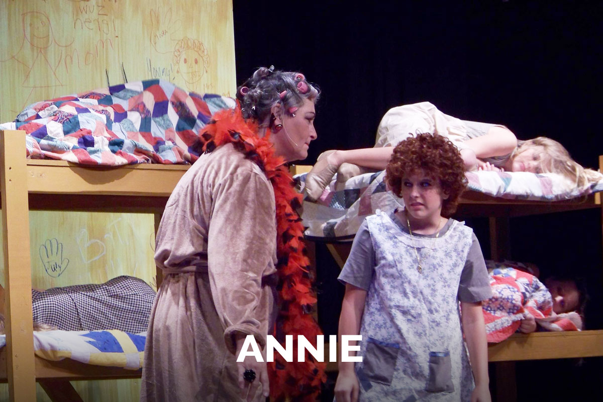 Annie presented by the Spanish Trail Playhouse