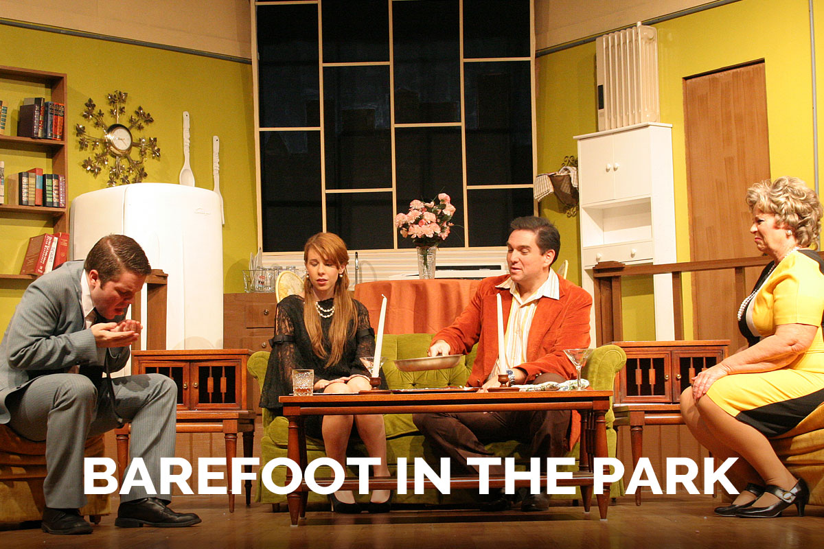 Barefoot in the Park presented by The Spanish Trail Playhouse