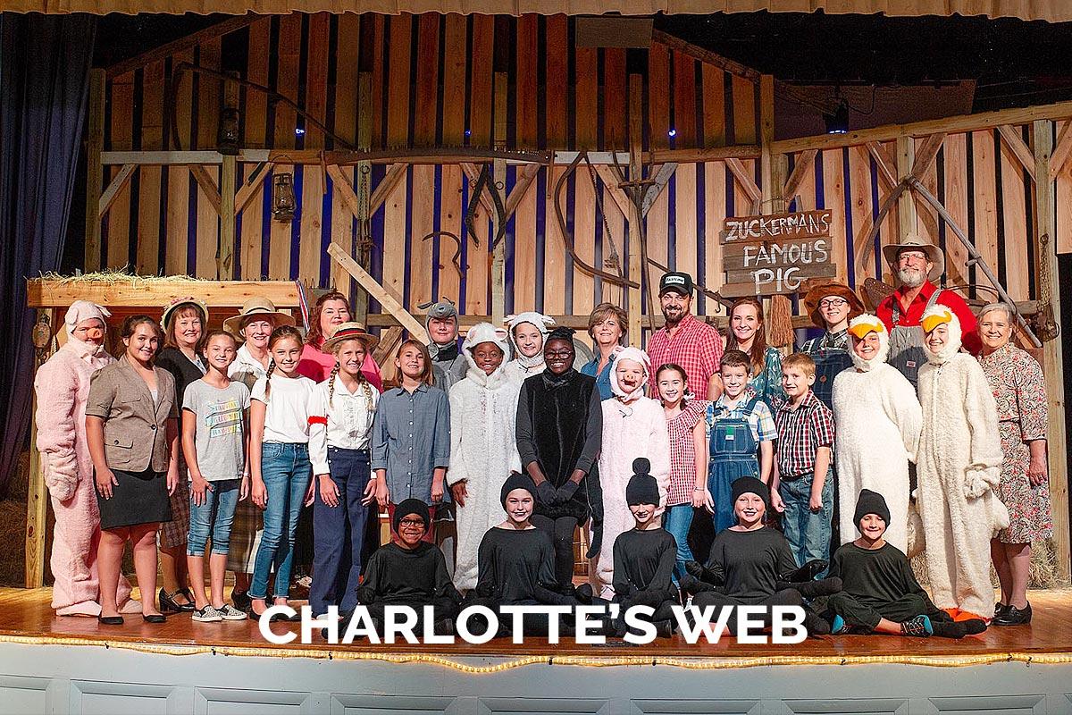 The Spanish Trail Playhouse Presents Charlotte's Web 2018