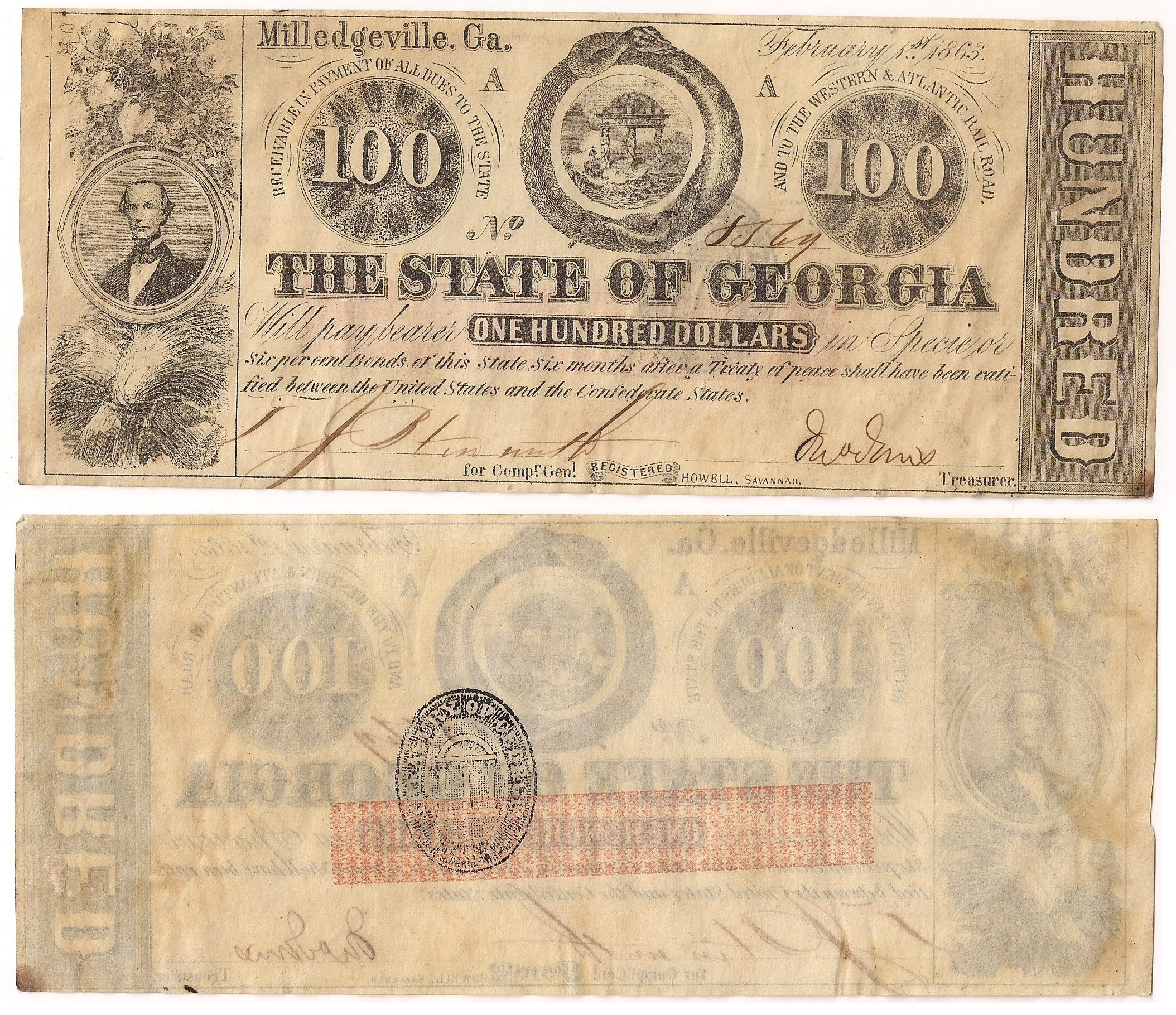 1863 State Notes -