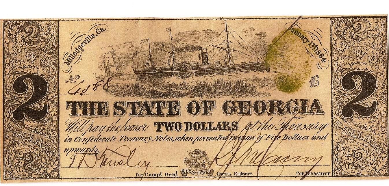 1864 $2 - Type 24