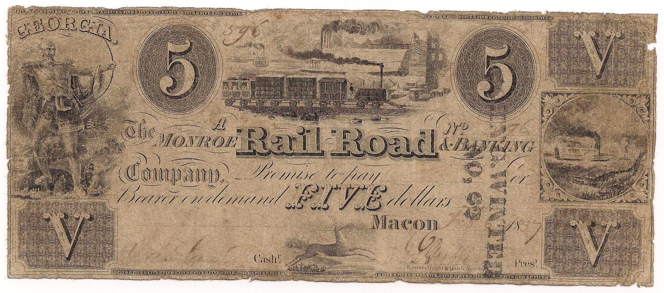 Monroe Rail Road & Banking Company -