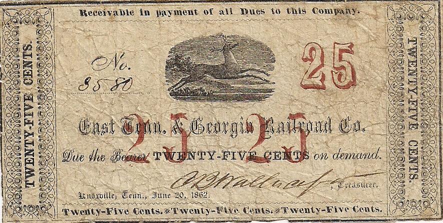 East Tennessee & Georgia Railroad Company -