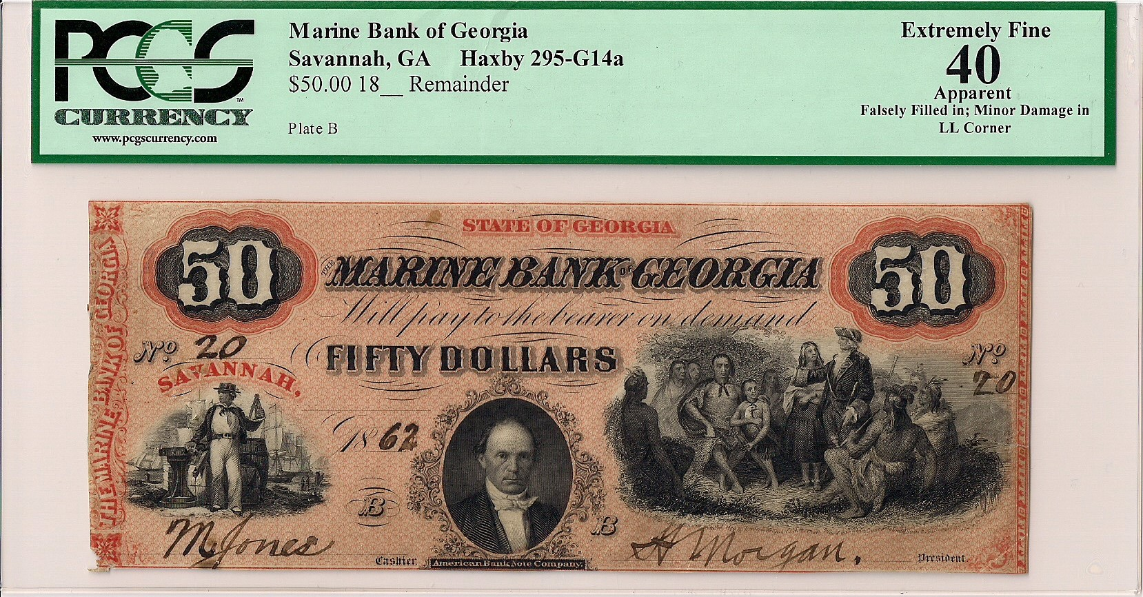 Marine Bank of Georgia -