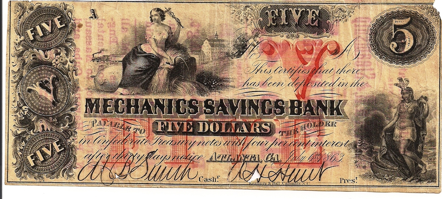 Mechanics Savings Bank -