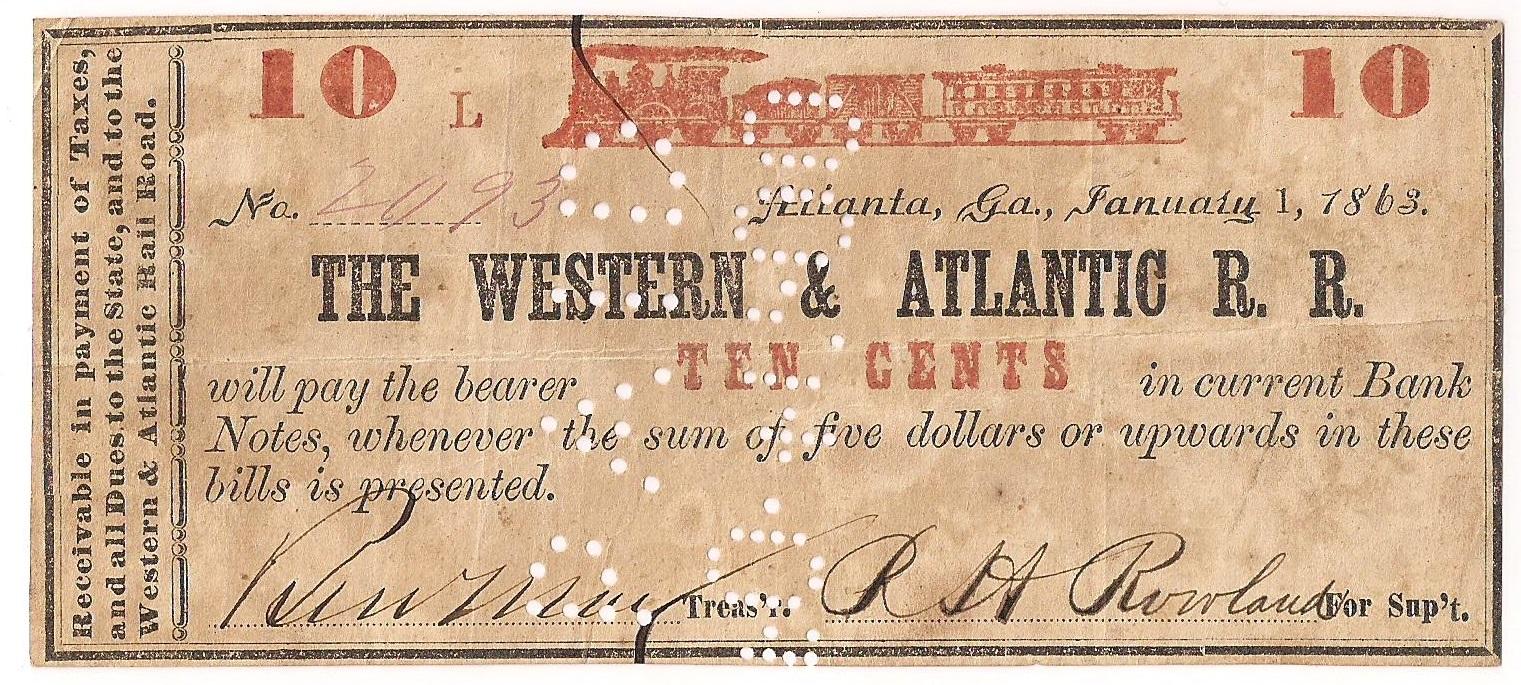 Series L - January 1, 1863