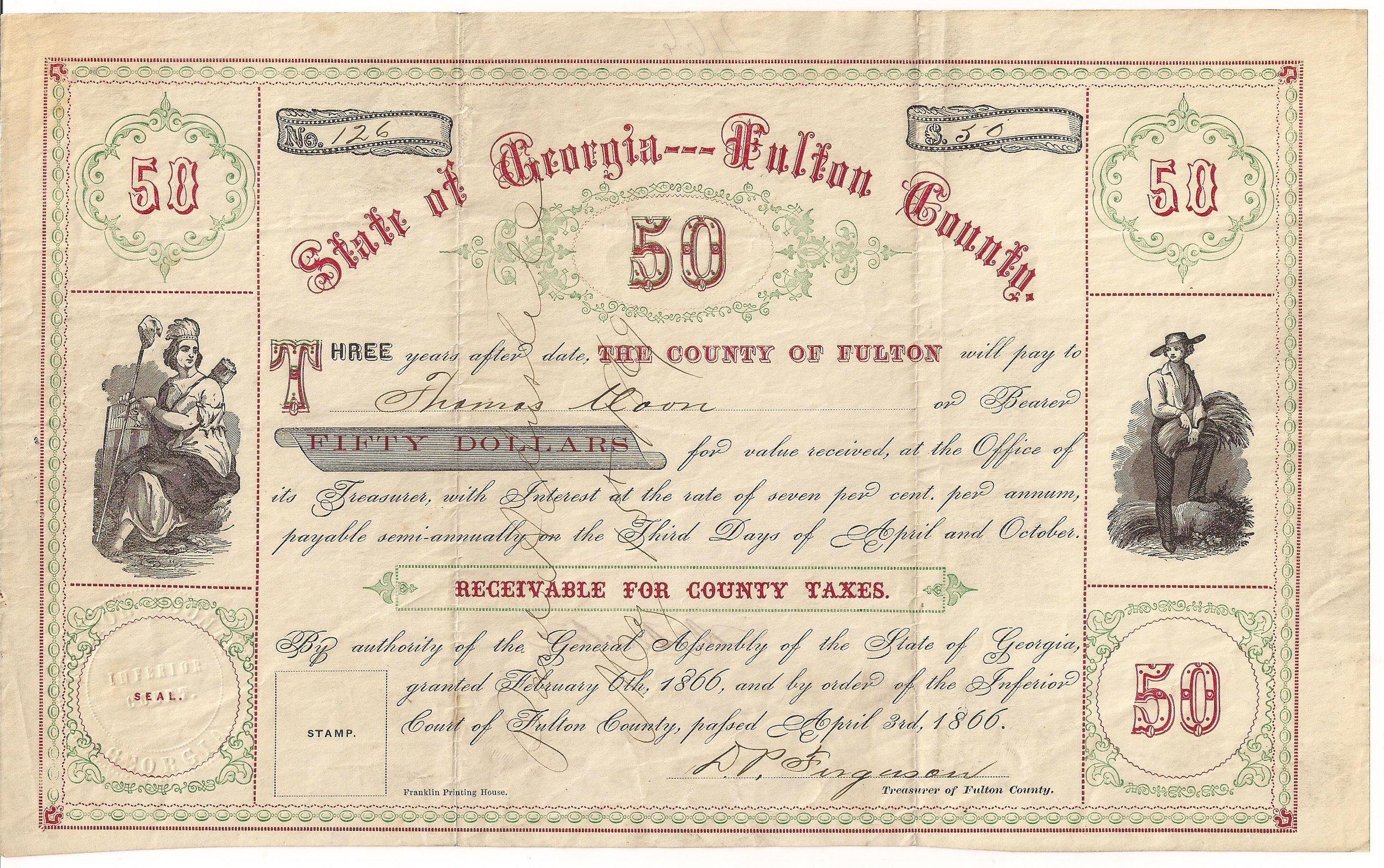 City & County Bonds -