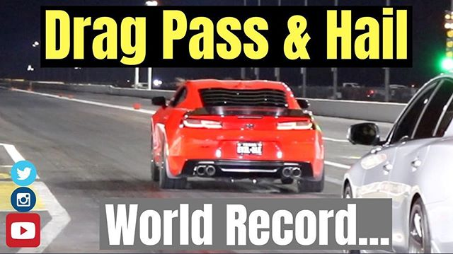 🎥: YOUTUBE VIDEO RELEASE... Drag Pass, Hailstorm, and World Record?!?!?. CLICK LINK IN MY PROFILE OR SEARCH FOR ONLINECARSHOW ON YOUTUBE! . . . . . . . . . . . —————————————————————. Shop of Choice: @hpszr1  @autoempirehouston @soriantuning . —————————————————————. Clubs: Chevy Ambassador: @westhoustonmuscle . VP Houston: @unitedmusclecarfamily . —————————————————————. Sponsors: @zl1addons @gmpartshouse @fastcarsmatterusa @thecamaroswag . Kept Clean with @revautosupply . —————————————————————. For shoutouts please visit my other account @onlinemusclecars . —————————————————————. Donations: Gofundme.com/onlinecarshow-camaro —————————————————————. #camaro #chevycamaro #camaross #camaross1le #camaro6 #camarosix #6thgencamaro #muscle #musclecar #horsepower #americanmuscle #dragradials #rims #wheels #bmrsuspension #carswithoutlimits #loweredlifestyle #carshow #carlifestyle #racing #launch #onlinecarshow #v8 #1320video #elvira1le #dragracing #worldrecord