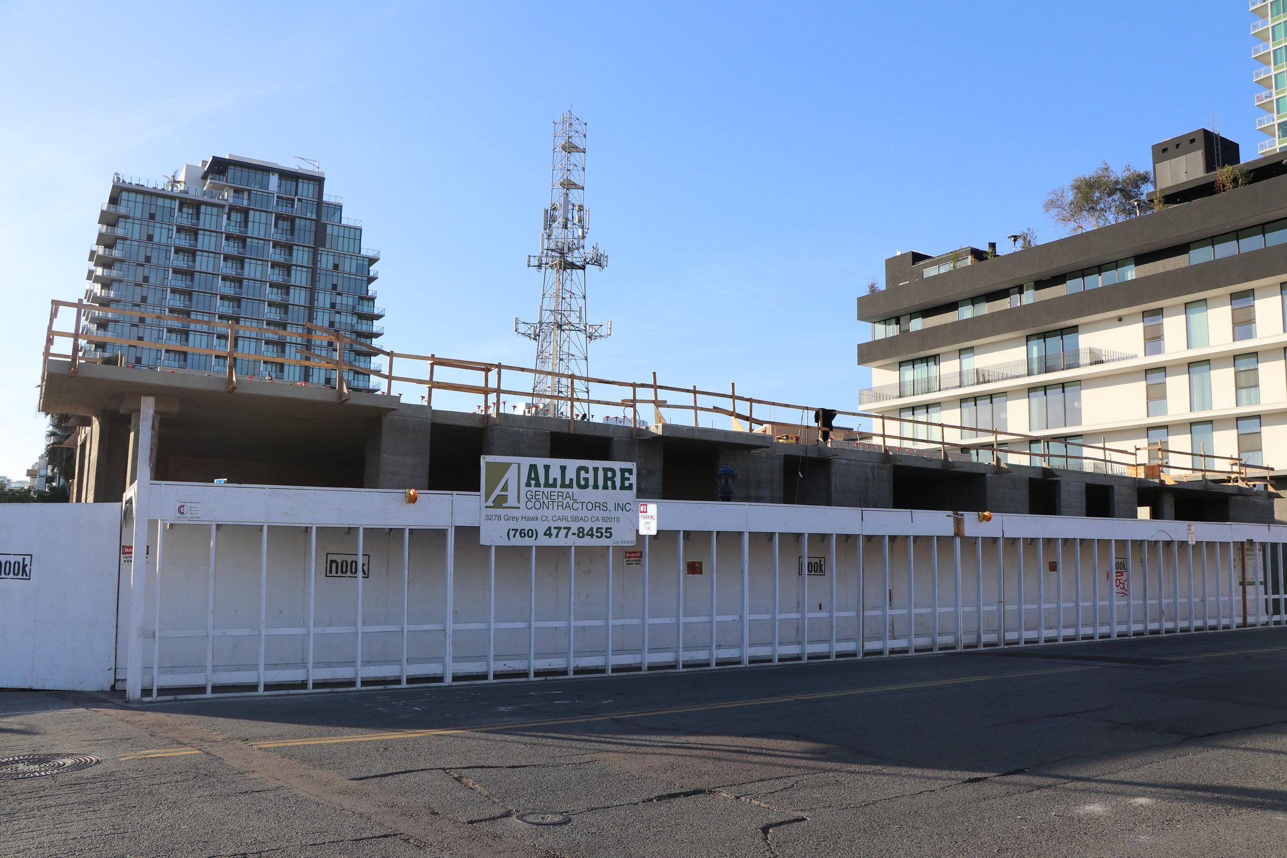 Nook East Village - San DiegoAllgire General Contractors