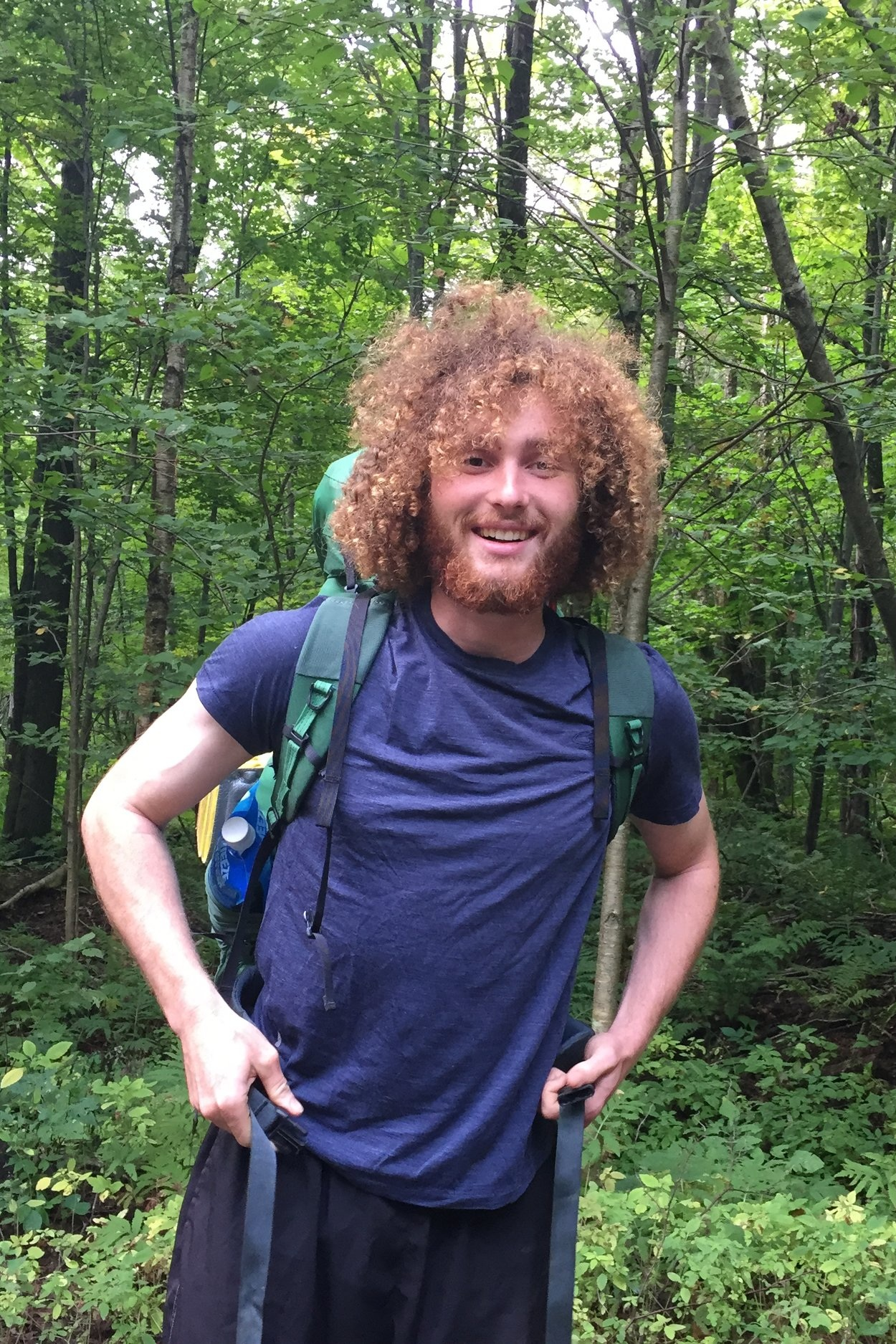 Jacob Combe  Jacob Combe is a Sterling College graduate, Agroecology '17, now applying his agro-ecological landscape assessment skills at Birdhous. He is focusing on site mapping, planning and design. Through careful site analysis he will be influencing how our water & road infrastructure and agroforestry plantings will take shape. More individually, Jacob is developing a platform for artists to monetize and make their illustration and design work available to the wider world.