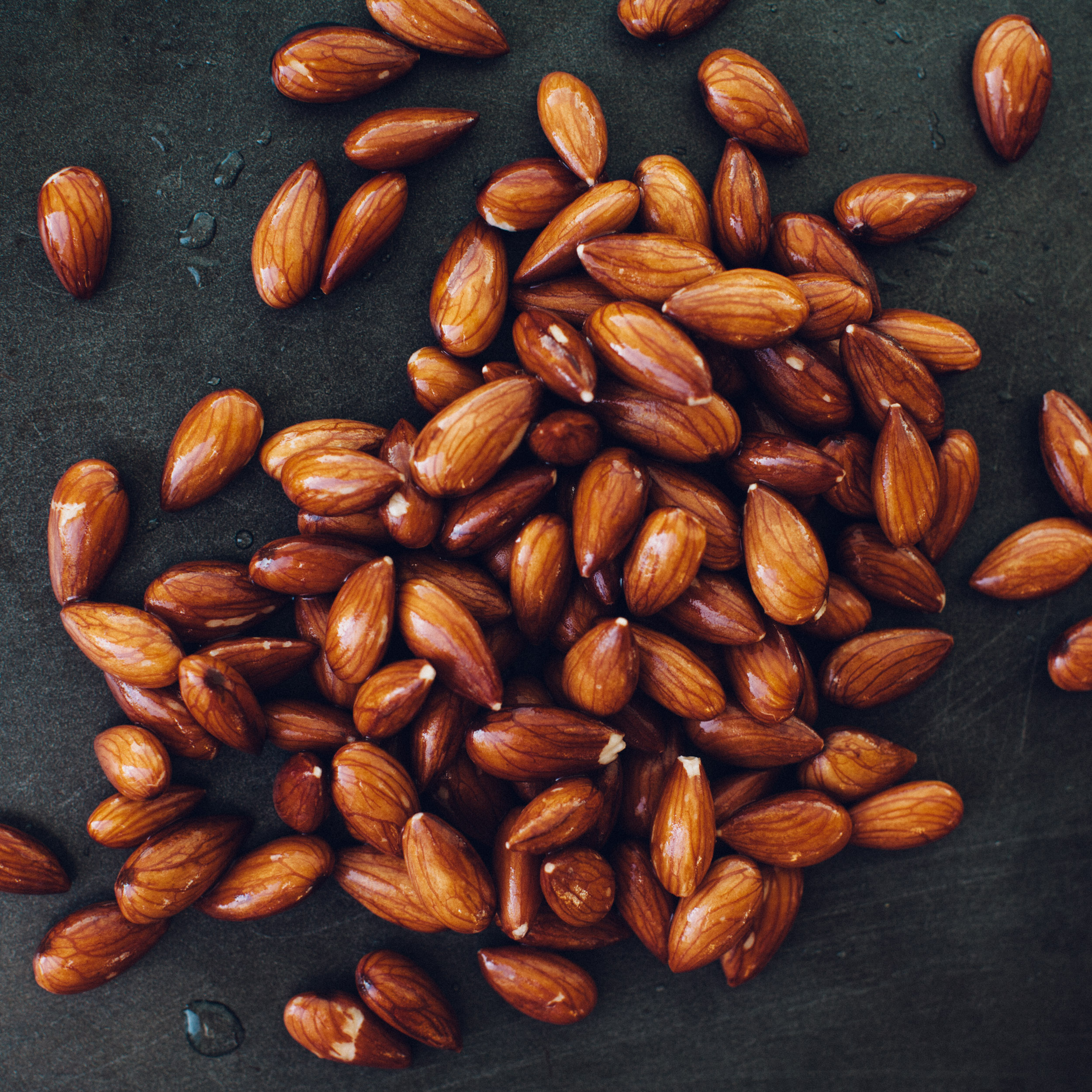 WATER-SOAKED ALMONDS